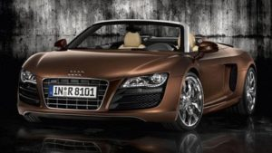asegurar coche de lujo Audi R8 Spyder V10